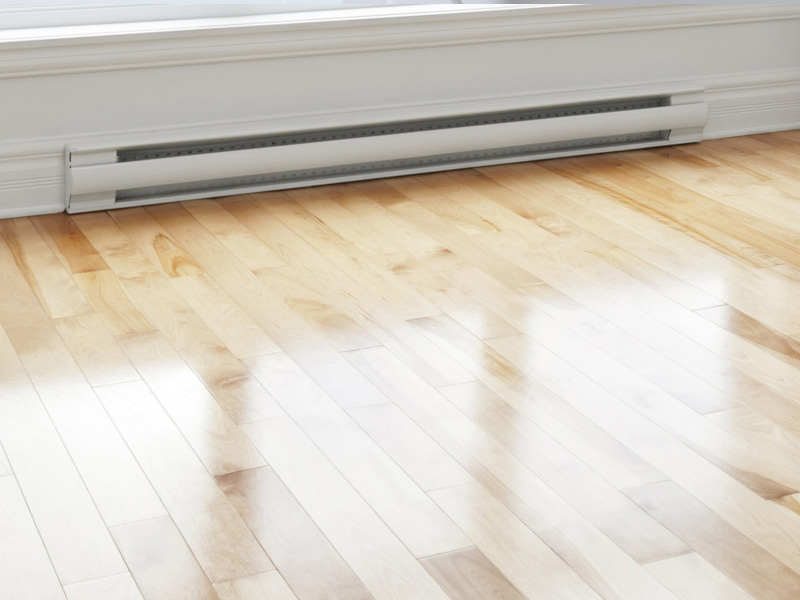 Baseboard Heating Installation