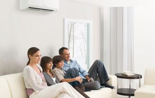 Mitsubishi Ductless Mini-Split Systems Comfort