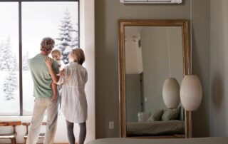 Mitsubishi Ductless Mini-Split Systems Hyper Heating Technology